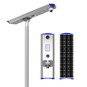 Factory Promotional 5w 10w 20w 30w 40w 50w 60w 80w 100watt All In One Ip65 Outdoor Integrated Motion Sensor Led Solar Street Light
