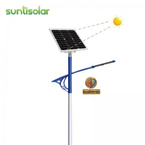 Automatic Sun Tracking Solar Street light