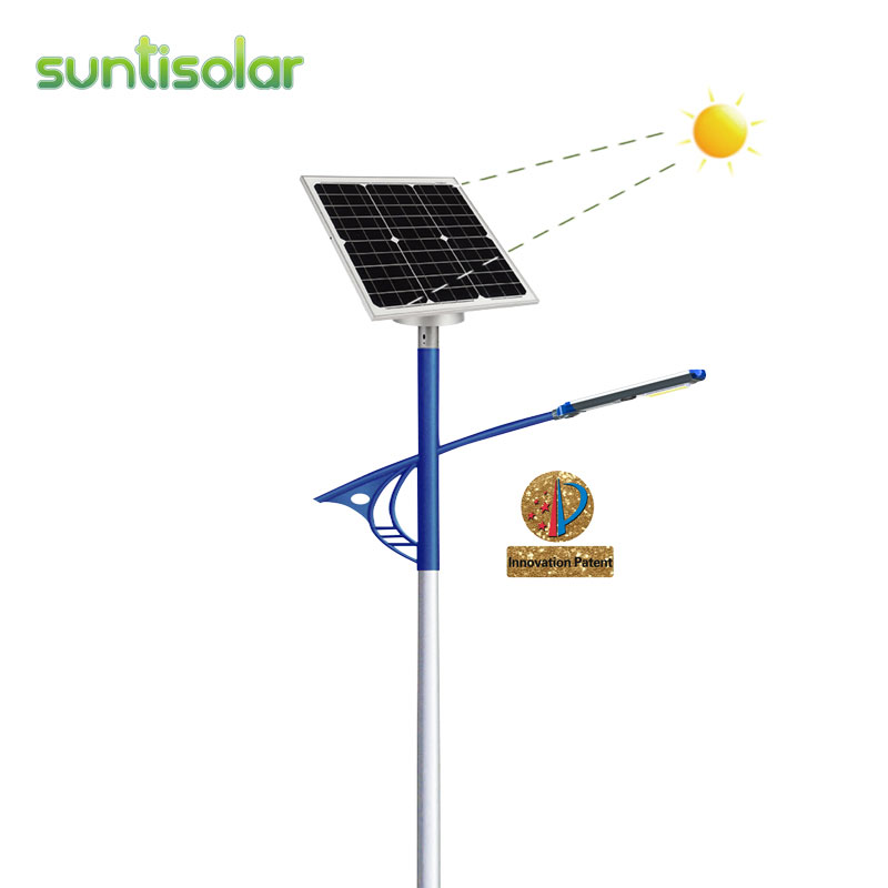 Automatic Sun Tracking Solar Street light Featured Image